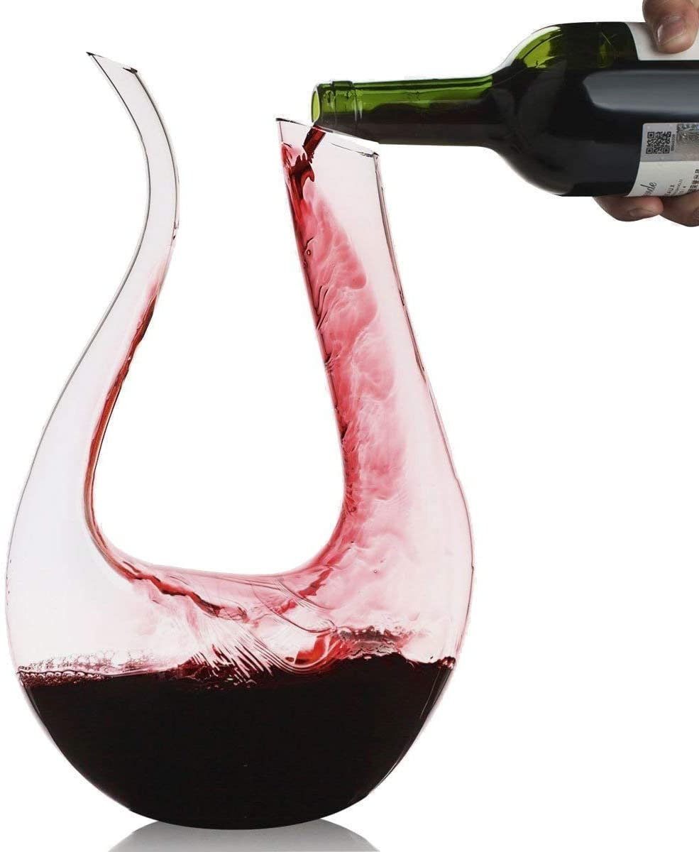 Amoyer Household Vino Pourer Filtro Portable Vino Accessori Decanter Aeratore del Vino Rosso