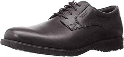 Rockport Mens Essential Details Waterproof Plain-Toe Oxford
