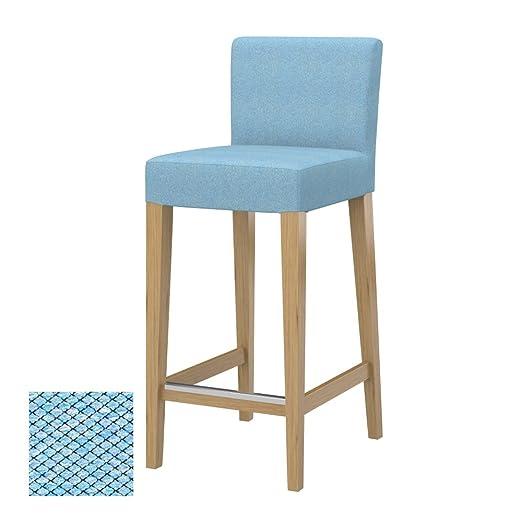 Soferia - IKEA HENRIKSDAL Funda Taburete Alto, Nordic Blue: Amazon.es: Hogar