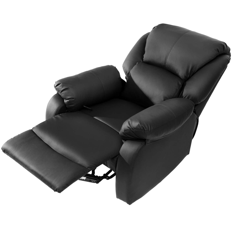 Modern Luxe Fernsehsessel Relaxsessel Leder Sofa Push Tilt Sofa Push