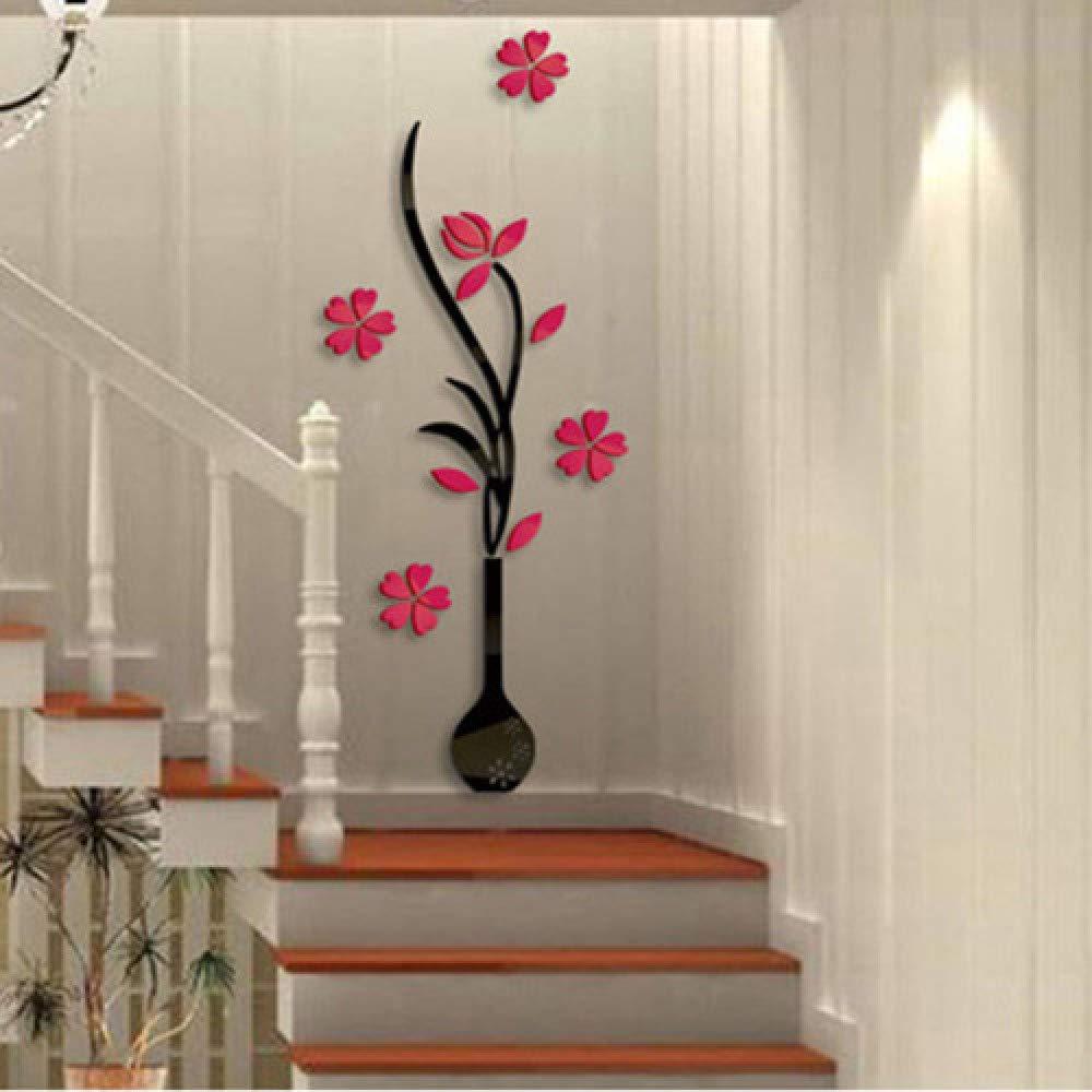 XWH 3D Tridimensional Pegatinas de Pared de de de acrílico sofá de Pared sofá TV de Fondo decoración de la Pared Pegatinas de Pared Sala de Estar Pegatinas de diseño Pintura,Flor Azul,Sobredimensiona 07abc7
