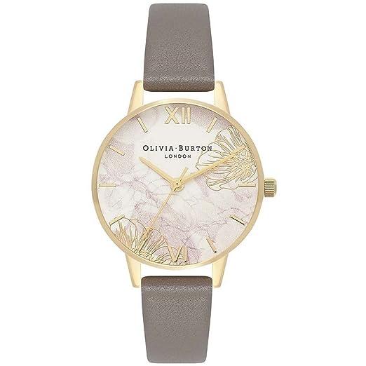 Olivia Burton OB16VM31 - Reloj abstracto de flores, apto para veganos: Amazon.es: Relojes