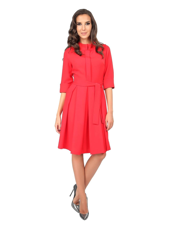 Carla by Rozarancio Women's Dress Red Red L