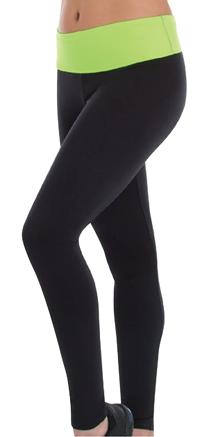 Body Wrappers Girls Footless Pant BWP093