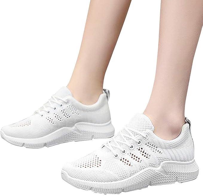 Berimaterry Zapatillas de Running para Mujer Air Zapatillas de Deportes Mujer Zapatos Deportivos Running Zapatillas para Correr Ligero y con Estilo 34-40 EU: Amazon.es: Ropa y accesorios