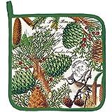 Michel Design Works Cotton Potholder, Spruce
