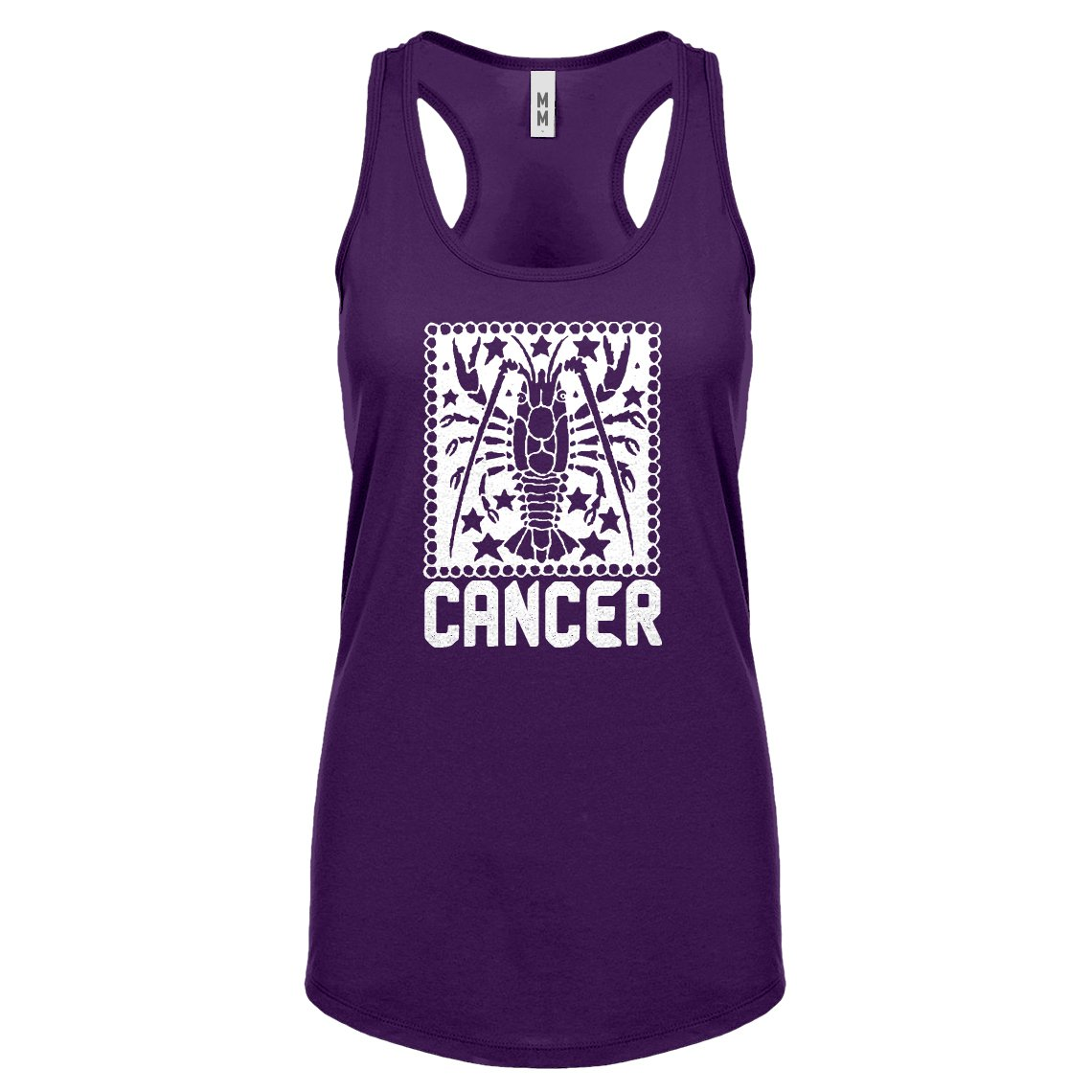 Indica Plateau Womens Cancer Zodiac Astrology Racerback Tank Top