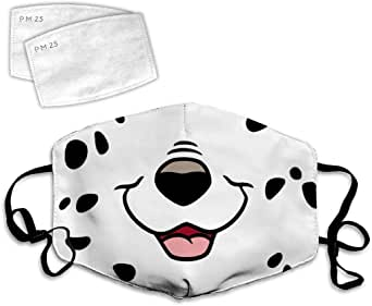 Cute Little Dog Dust Face Cover Adjustable Mouth Mask