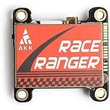 AKK 5.8GHz Long Range FPV Transmitter with Smart Audio 200mW/400mW/800mW/1000mW Switchable VTX for FPV Racing Drone…