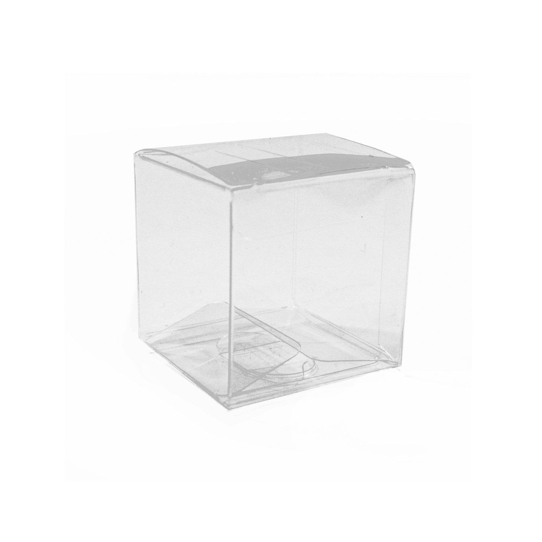Amazon.com: dashleigh Tuck Top PVC Plastic Boxes with Round Seals ...