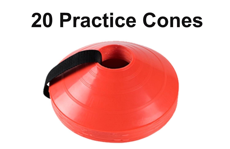 20セット明るいサッカー練習Cones B079J1H48R
