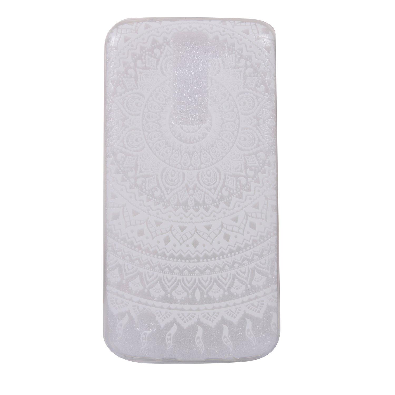 BONROY Coque Pour LG K10, Coque Pour LG K10 Case Cover, Housse Etui Protection Silicone Souple Pour LG K10, Coloré Mode Créatif Motif Ultra-Mince TPU Silicone Bumper Scratch Résistance Shockproof Anti Cho
