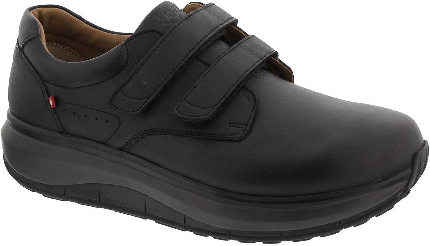 JOYA Herren Slippers schwarz