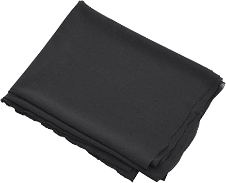 hongxinq 1.7mx0.5m Dustproof Protective Speaker Grill Cloth Stereo Gille Fabric Speaker Mesh Cloth Black