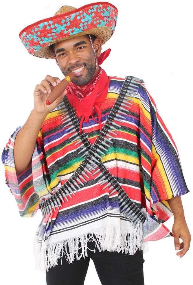 I LOVE FANCY DRESS LTD Disfraz DE Bandido Mexicano para Adultos ...