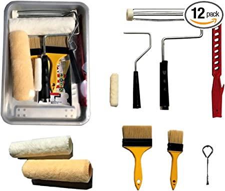 """9/"""" roller covers /& naps various sizes trays and brushes Bulk Paint products"""