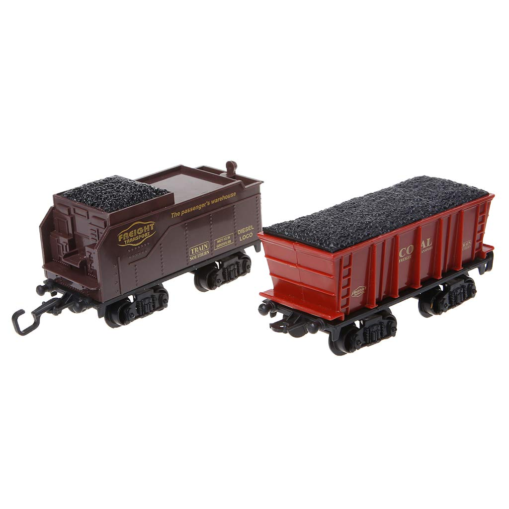 JERKKY Electric Toys Bater/ía Ferrocarril Tren Tren Coche de Juguete con Sonido Fumar para ni/ños Ni/ños 48#