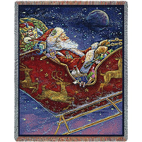 Pure Country Inc. Midnight Ride Blanket Tapestry Throw - Pure Country Cotton Tapestry