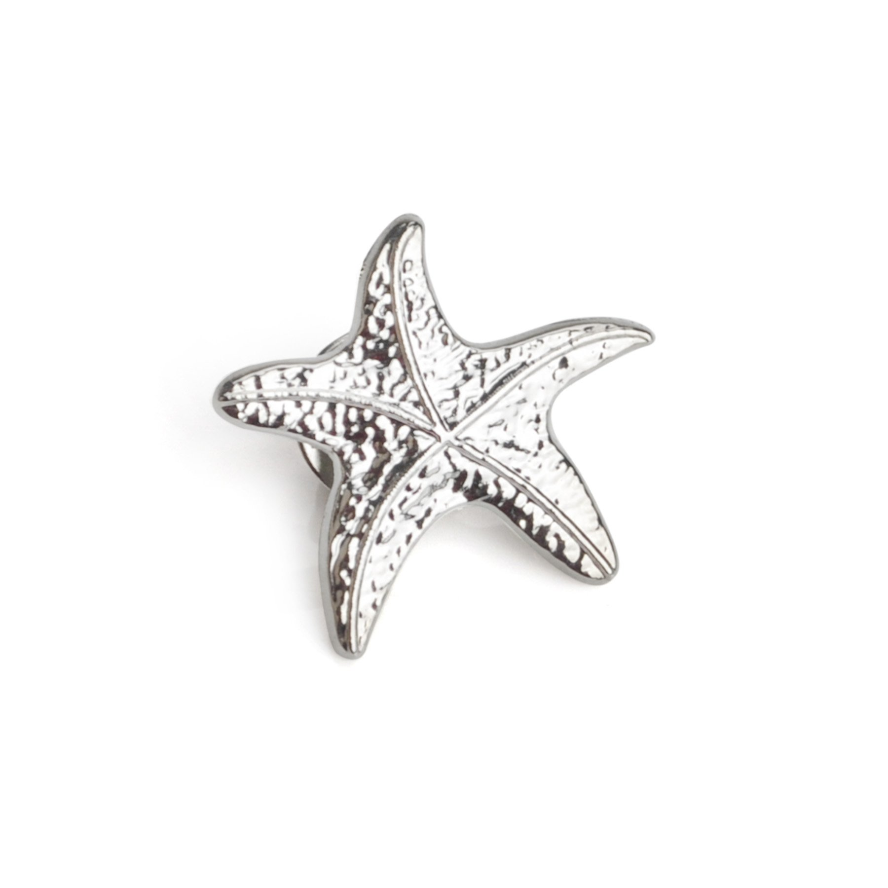 (Price/25PCS) ALICE 3D Cast Starfish Lapel
