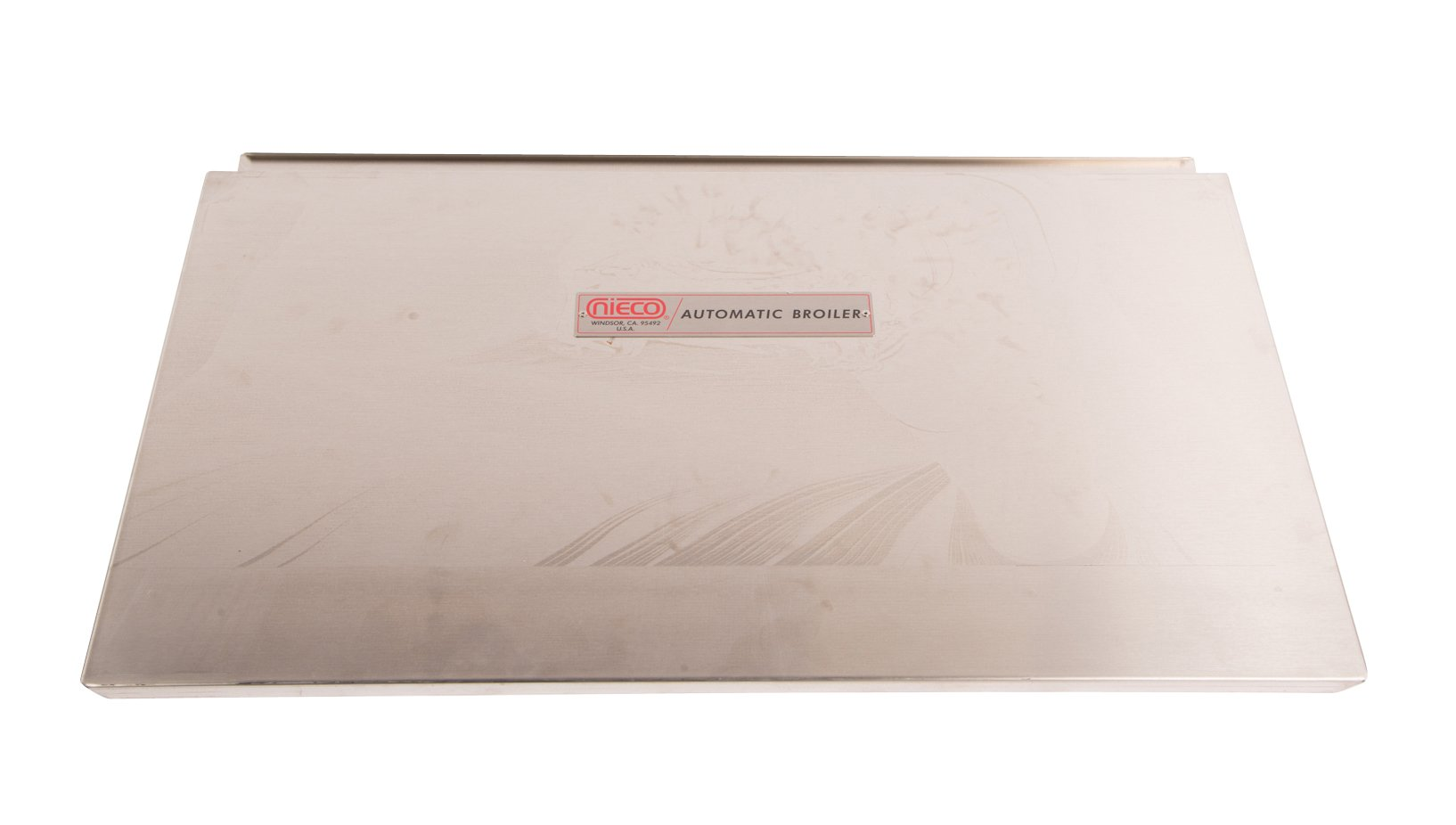 Gold Bond GSL1836SS 18'' X 36'' Stainless Steel Flat Shelf with Lip