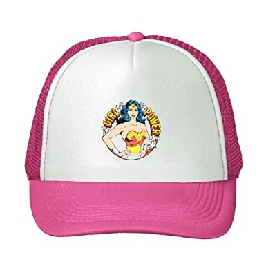 4faa4fff0fe Image Unavailable. Image not available for. Color: Kari Snapback Trucker  Hat Wonder Woman ...