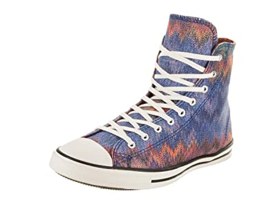 0f4395ea2458af Converse Women s Chuck Taylor All Star Fancy Missoni Hi Blue Multi Casual  Shoe 5 Women