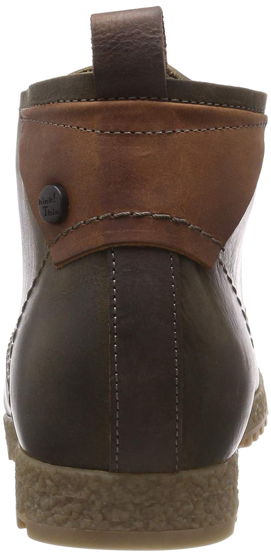 Think! Herren (63 Grod_383622 Desert Boots Grün (63 Herren Oliv/Kombi) f26011