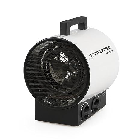Trotec TDS 20 R Calefactor eléctrico (max. 3 kW)