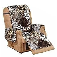 """Elaine Karen Deluxe Reversible Recliner Furniture Protector - 80""""x 70"""""""
