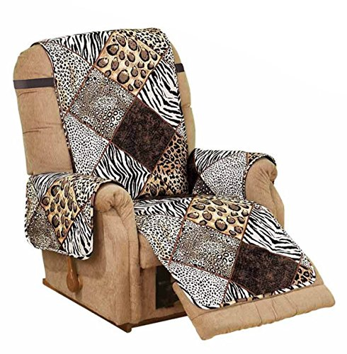 Deluxe Reversible RECLINER Furniture Protector SAFARI for sale  Delivered anywhere in Canada