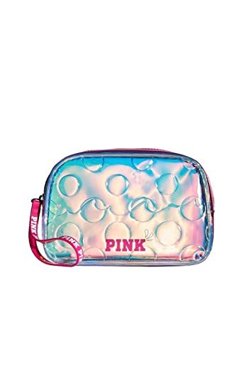 Amazon.com: Victoria Secret rosa iridiscente Aqua bolsa de ...