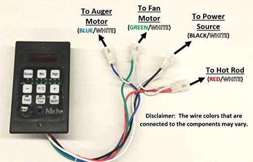 61Nuoy3wU2L._SX522_ amazon com pellet pro pid pellet grill controller for traeger traeger wiring schematic at beritabola.co