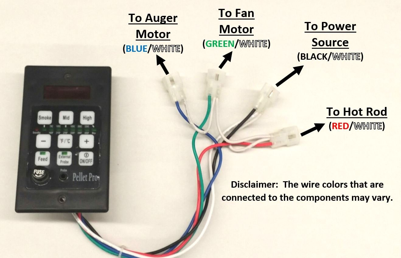 Pellet Pro PID Pellet Grill Controller for Traeger,Pit Boss,Camp Chef, w/Adapter by Pellet Pro (Image #3)