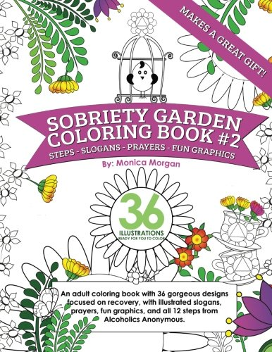 Sobriety Garden Coloring Book #2: An adult coloring for sale  Delivered anywhere in USA