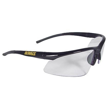DeWalt Radio lente transparente gafas de seguridad + + cordón para el cuello Lanyard correa +