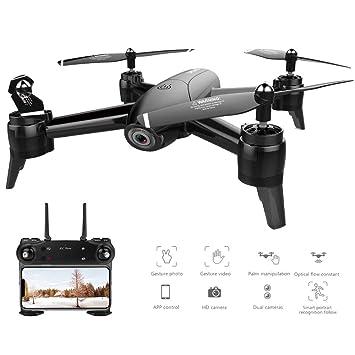RC Drone Optical Flow 1080 P HD Cámara Dual WiFi Tiempo Real ...