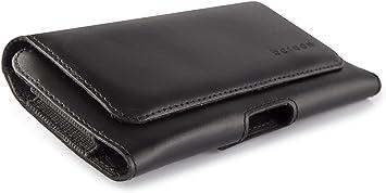 LEO GRAF Funda para Smartphone con Clip de Cinturón Hecha de ...