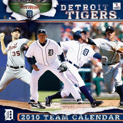 Detroit Tigers 2010 Wall Calendar