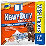 OUT! Heavy Duty Quilted Dog Pads, XX-Large 120ct (4 x 30ct)