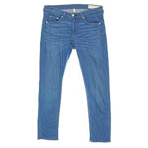 Rag & Bone Womens Stretch Denim Capri Jeans Blue 28