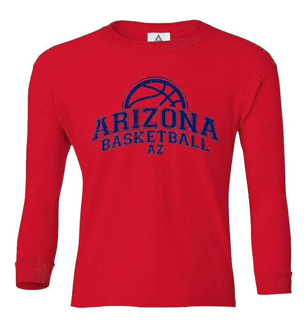 Sheki Apparel Basketball Fans Home Town Pride Youth Long Sleeve T-Shirt