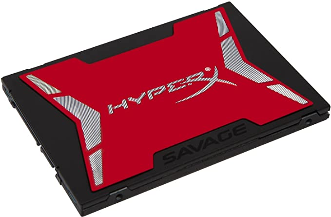 HyperX Savage 240GB SSD SATA 3 2.5 (7mm Height) (SHSS37A/240G) Internal Solid State Drives at amazon