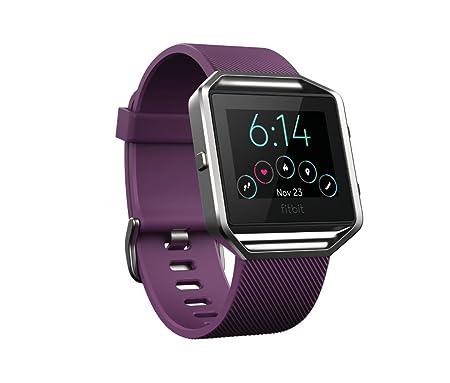Fitbit Blaze - Reloj inteligente para actividad física, unisex, color ciruela, talla S