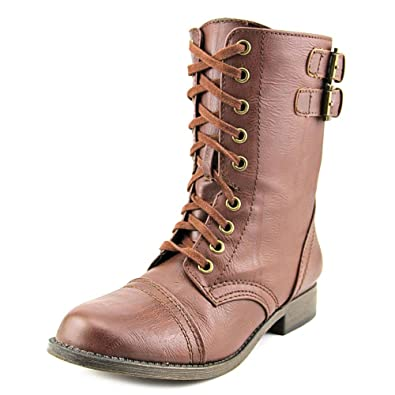 Amazon.com | Rampage Jaycer Women's Combat Boots | Ankle & Bootie