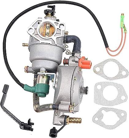 Harbot Gx390 Dual Fuel Vergaser Lpg Ng Umrüstsatz 4 5 5 5 Kw Gx 390 188f Generator Manuelle Choke Garten