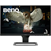 BenQ 24 Inch 1080P IPS Monitor | 75 Hz for Gaming | Proprietary Eye-Care Tech |Adaptive Brightness for Image Quality | EW2480