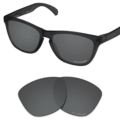 64a3d9eb10669 Tintart Performance Lenses Compatible with Oakley Frogskins Polarized  Etched-Carbon Black
