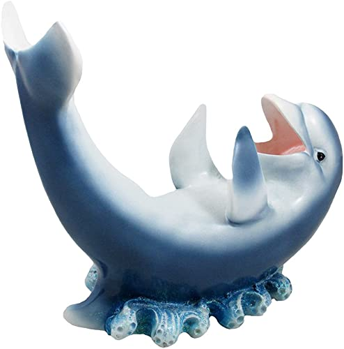 Home 'n Gifts Drinking Dolphin Wine Bottle Holder Statue