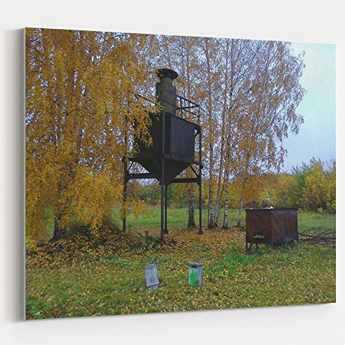Westlake Art - Bird Tree - 16x20 Canvas Print Wall Art - Canvas Stretched Gallery Wrap Modern Picture Photography Artwork - Ready to Hang 16x20 Inch (Metal Lighthouse Bird Feeder)