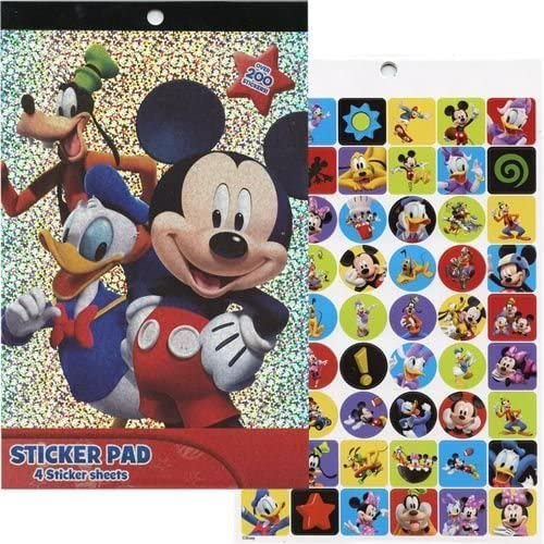 Christmas Mickey Clubhouse Large Backpack Set